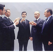 Edouard Lev&eacute; . S&eacute;rie Reconstitutions - Actualit&eacute;s, Le Toast, 2001<br /> Photographie couleur ; 80 x 95 cm<br /> Edition &agrave; 5 exemplaires<br /> Color photographe ; 31 1/2 x 37 3/8 inches<br /> Edition of 5