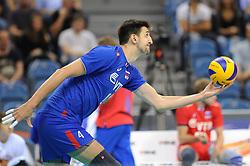 Artem Volvich during the European Championship game Russia - Slovenia on August 26, 2017 in Krakow, Poland. (Photo by Krzysztof Porebski / Press Focus)