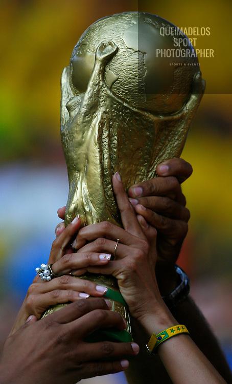 BERLIN.Brasil - Croatia.World Cup Germany 2006.2006/06/13.FOTO: MANUEL QUEIMADELOS.WWW.MANUELQUEIMADELOS.COM