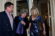 BEN BUDWORTH; JULIA BUDWORTH; RACHEL JOHNSON, Rachel's Johnson's 'A Diary of the Lady'book launch at The Lady's offices. Covent Garden. London. 30 September 2010. -DO NOT ARCHIVE-© Copyright Photograph by Dafydd Jones. 248 Clapham Rd. London SW9 0PZ. Tel 0207 820 0771. www.dafjones.com.