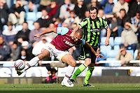 Football - The Championship - West Ham United vs Brighton and Hove Albion<br /> West Ham's John Carew is fouled by Brighton's Gordon Greer