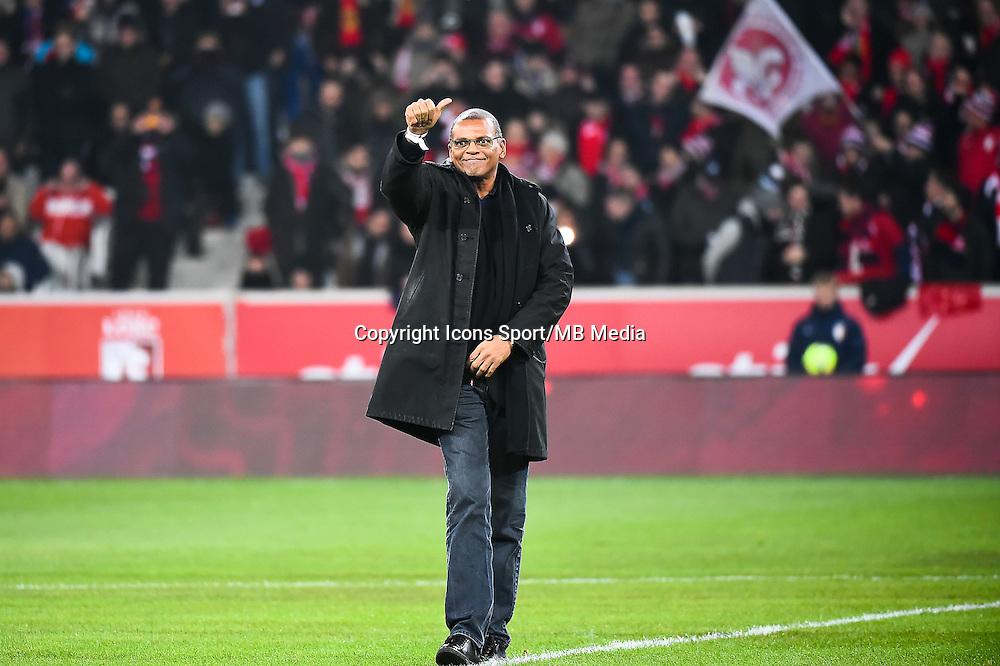 Bernard LAMA - 03.12.2014 - Lille / Paris Saint Germain - 16eme journee de Ligue 1 -<br />Photo : Fred Porcu / Icon Sport
