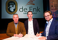 BUSSUM - NVG / NGF/ PGA congres 2018. The drive to happiness. Dirk-Jan Vink   COPYRIGHT KOEN SUYK