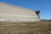 Closeup Tustin Blimp Hangar West Side