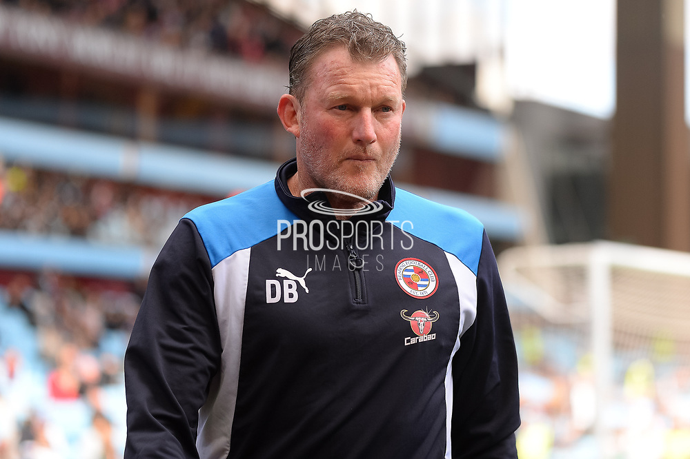 Reading Goalkeeping coach Dave Beasant during the EFL Sky Bet Championship match between Aston Villa and Reading at Villa Park, Birmingham, England on 15 April 2017. Photo by Dennis Goodwin.