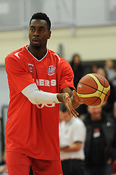 - Photo mandatory by-line: Dougie Allward/JMP - Mobile: 07966 386802 - 27/02/2015 - SPORT - basketball - Bristol - SGS Wise Campus - Bristol Flyers v Leeds Force - British Basketball League