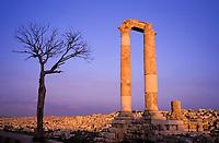 Jordanie - Amman - Djebel Al Qalaa - Temple d'Hercule // Hercule temple - Djebel Al Qalaa - Amman - Jordanie