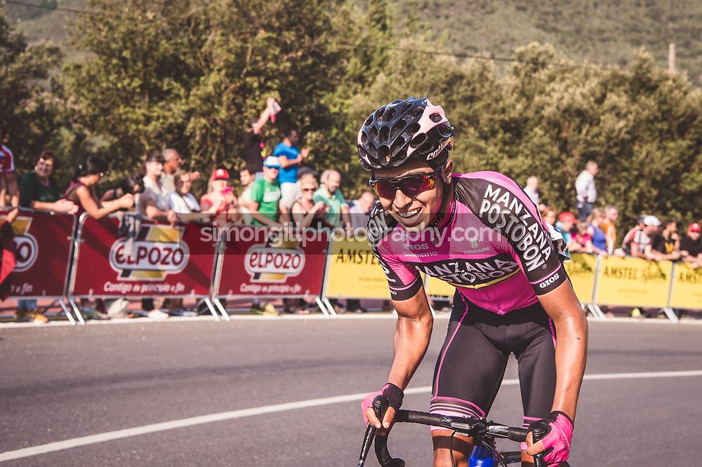 September 7th 2017, Suances to Santo Toribio de Liébana, Spain; Cycling, Vuelta a Espana Stage 18; Aldemar Reyes