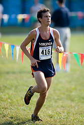 Virginia Cavaliers Will Williams..The Virginia Cavaliers hosted the 2007 Lou Onesty Invitational Cross Country meet at Panorama Farms near Charlottesville, VA on September 7, 2007.