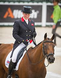 Zara Philips, (GBR), High Kingdom - Dressage Eventing - Alltech FEI World Equestrian Games™ 2014 - Normandy, France.<br /> © Hippo Foto Team - Shannon Brinkman<br /> 25/06/14