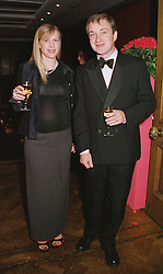 MR & MRS HARRY ENFIELD, he is the comedian, at a party in London on 22nd February 1999.MON 78