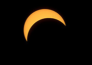 Partial solar eclipse 11. Augudst 1999 from Hidra, south-western Norway. Maximum solar cover at 12:30:40 local time.