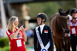 Yen-Yi Tan Laurentina, SGP, Fuerst Sherlock<br /> World Equestrian Games - Tryon 2018<br /> © Hippo Foto - Sharon Vandeput<br /> 19/09/2018