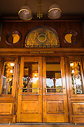 Entrance to the General Palmer Hotel, Durango, Colorado USA