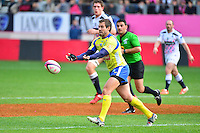 Brock JAMES - 28.03.2015 - Stade Francais / Clermont - 21e journee Top 14<br /> Photo : Dave Winter / Icon Sport