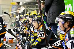 16.11.2011, Eisstadion Liebenau, Graz, AUT, EBEL, Graz 99ers vs EHC Liwest Black Wings Linz, im Bild Spieler der 99ers, Daniel Woger, (99ers, #51), Patrick Harand, (99ers, #16) // during the ice hockey game between Graz 99ers and EHC Liwest Black Wings Linz at the Eisstadion Liebenau, Graz, Austria, 2011/11/16, EXPA Pictures © 2011, PhotoCredit: EXPA/ M. Kuhnke
