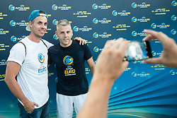 Promotional event 218 days before UEFA Futsal EURO Slovenia 2018, on June 26, 2017 in Ljubljana, Slovenia. Photo by Vid Ponikvar / Sportida