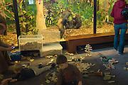 AFrica Museum Tervuren laatste dag van de vakantie met speciale kinder-activiteiten zoals deze speelhoek