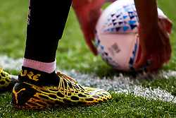 Puma boots worn by Zak Vyner of Bristol City - Mandatory by-line: Robbie Stephenson/JMP - 01/07/2020 - FOOTBALL - The City Ground - Nottingham, England - Nottingham Forest v Bristol City - Sky Bet Championship