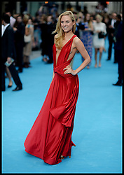 Kimberley Garner arrives for the We're The Millers - European Film Premiere. Odeon, London, United Kingdom. Wednesday, 14th August 2013. Picture by Andrew Parsons / i-Images