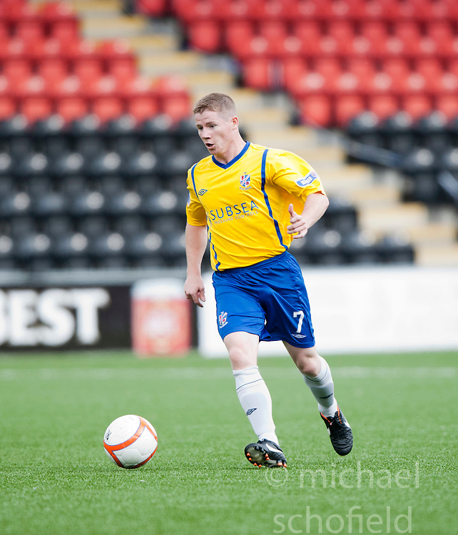 Cowdenbeath's Marc McKenzie..Airdrie United 1 v 5 Cowdenbeath, 20th August 2011..© pic : Michael Schofield.