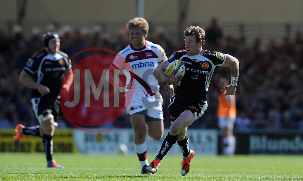 Exeter Chiefs Ian Whitten Photo mandatory by-line: Harry Trump/JMP - Mobile: 07966 386802 - 16/05/15 - SPORT - RUGBY - Aviva Premiership - Exeter Chiefs v Sale Sharks - Sandy Park, Exeter, England.