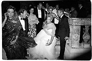Princess Michael of Kent. Save Venice Ball. Venice. 1991. © Copyright Photograph by Dafydd Jones 66 Stockwell Park Rd. London SW9 0DA Tel 020 7733 0108 www.dafjones.com