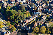 Nederland, Utrecht, Amersfoort, 28-10-2014; Koppelpoort over het Spui. Stadspoort.<br /> Town gate.<br /> luchtfoto (toeslag op standard tarieven);<br /> aerial photo (additional fee required);<br /> copyright foto/photo Siebe Swart