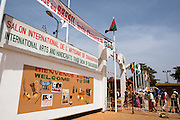 Entrance of the 22nd Salon International de l'Artisanat de Ouagadougou (SIAO) in Ouagadougou, Burkina Faso on Saturday November 1, 2008.