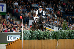 Jung Michael, (GER), Fischer Rocana FST<br /> Mercedes German Masters - Stuttgart 2016<br /> © Hippo Foto - Stefan Lafrentz<br /> 16/11/16