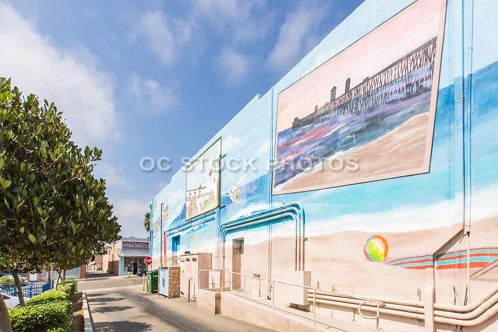 Mural Wall Art in Downtown Oceanside