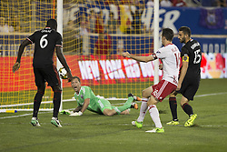 September 27, 2017 - Harrison, New Jersey, United States - Kofi Opare (6) of DC United defends during regular MLS game against New York Red Bullsd at Red Bull Arena Game ended in draw 3 - 3  (Credit Image: © Lev Radin/Pacific Press via ZUMA Wire)