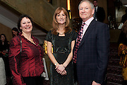JULIA PALCHER; SUSAN HAMMOND; ANTHONY FIENNES TROTMAN; ;,  House of Lords and House of Commons Parliamentary Palace of Varieties in aid of Macmillan Cancer Support. <br /> Park Lane Hotel, Piccadilly, London, 7 March 2012.