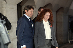 Rebekah and Charlie Brooks leave court. Rebekah Brooks (pictured) and Andy Coulson Phone hacking trial at The Old Bailey, London, United Kingdom. Thursday, 31st October 2013. Picture by Ben Stevens / i-Images