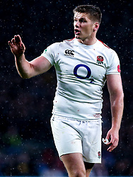 Owen Farrell of England - Mandatory by-line: Robbie Stephenson/JMP - 10/11/2018 - RUGBY - Twickenham Stadium - London, England - England v New Zealand - Quilter Internationals