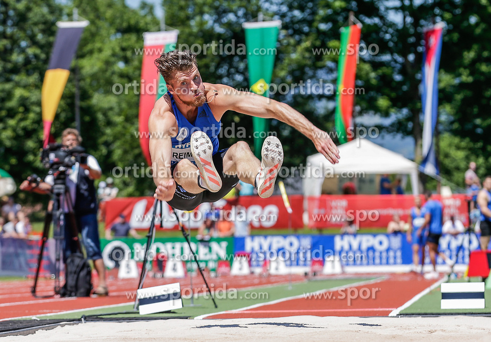 28.05.2017, Moeslestadion, Goetzis, AUT, 43. Hypo Meeting Goetzis, im Bild Rico Freimuth (GER) beim Weitsprung // Rico Freimuth of Germany during the 43rd Hypo Athletics Meeting at the Moeslestadion in Goetzis, Austria on 2017/05/28. EXPA Pictures © 2017, PhotoCredit: EXPA/ Peter Rinderer