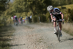 October 7, 2018 - Tours, France - TOURS, FRANCE - OCTOBER 7 : TERPSTRA Niki (NED)  of Quick - Step Floors, KRAGH ANDERSEN Soren (DEN) of Team Sunweb during the 112th edition of the Paris - Tours Elite cycling race with start in Chartres and finish in Tours on October 07, 2018 in Tours, France, 7/10/2018  (Credit Image: © Panoramic via ZUMA Press)