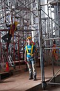 Avances de la construccion del Biomuseo de Panama. Primer edificio diseñado por Frank Gehry en America Latina. Panama, 21 de julio de 2012. (Victoria Murillo/Istmophoto)