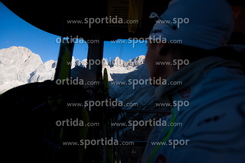 Training camp of Slovenian Cross country Ski team on October 23, 2012 in Dachstein Getscher, Austria. (Photo By Vid Ponikvar / Sportida)