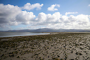 YNYSLAS, WALES, UK 17TH MARCH 2020 - Landscape of Dyfi National Nature Reserve, Borth and Ynyslas Beach and Dyfi Estuary, County of Ceredigion, Mid Wales, UK.