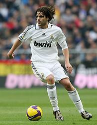 Real Madrid's Fernando Gago during La Liga match.January 18 2009.