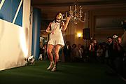 LINZI STOPPARD, Launch of French 77 by Puma. Claridges. 19 April 2007.  -DO NOT ARCHIVE-© Copyright Photograph by Dafydd Jones. 248 Clapham Rd. London SW9 0PZ. Tel 0207 820 0771. www.dafjones.com.