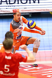 20160402 BEL: Volleybal: Volley Lindemans Asse Lennik - Noliko Maaseik, Zellik  <br />Robbert Andringa