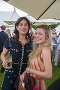 SOPHIE WINDSOR; HERMIONE EYRE, Cartier Queen's Cup. Guards Polo Club, Windsor Great Park. 17 June 2012
