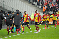 Joie Lens - 07.12.2014 - Lens / Lille - 17eme journee de Ligue 1<br />