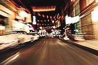 Chinatown at night. San Francisco, CA. Copyright 2013 Reid McNally.