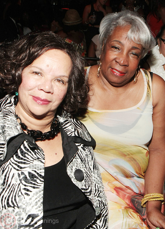 12 September 2013- Brooklyn, NY: (L-R) Mahalia Ann Hines and Mattie L. Turner attend the Farewell to Summer 2013 Benefit Concert for the Ajile Turner Foundation held at the Galapagos Art Space on September 12, 2013 in Brooklyn, NY. ©Terrence Jennings