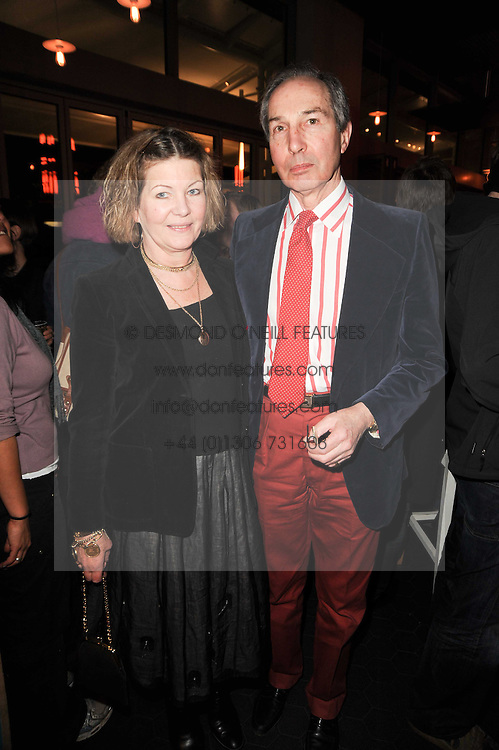 PROBYN & NIKI MIERS parents of Thomasina Miers at a party to celebrate the publication of Mexican Food Made Simple by Thomasina Miers held at Wahaca, Westfield Shopping Centre, London on 2nd February 2010.