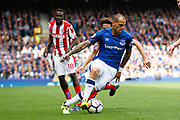 Everton Sandro Ramirez (9) during the Premier League match between Everton and Stoke City at Goodison Park, Liverpool, England on 12 August 2017. Photo by Craig Galloway.