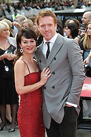 Helen McCrory; Damian Lewis Harry Potter and the Deathly Hallows part 2 World Premiere, Trafalgar Square, London, UK, 07 July 2011:  Contact: Rich@Piqtured.com +44(0)7941 079620 (Picture by Richard Goldschmidt)